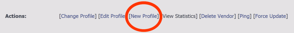 """New Profile location on vendor config page"
